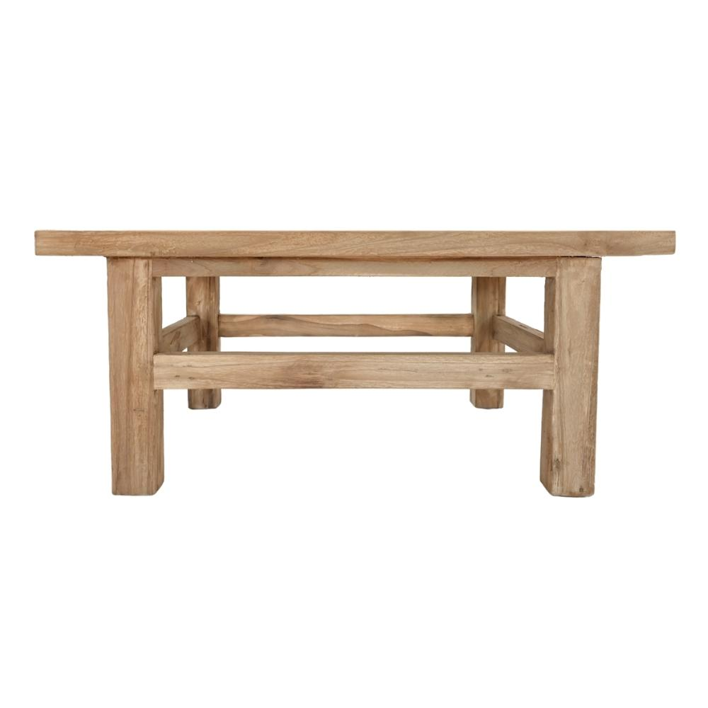 Zoco Home Furniture Teak Coffee Table Rectangular | 80cm