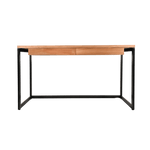 Zoco Home Furniture Teak Console Table with 2 Drawers