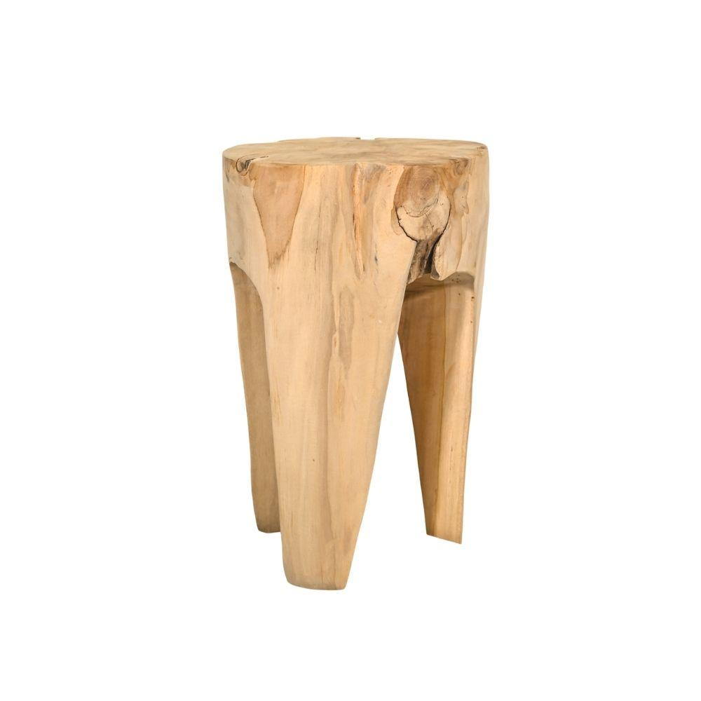 Zoco Home Furniture Teak Stool