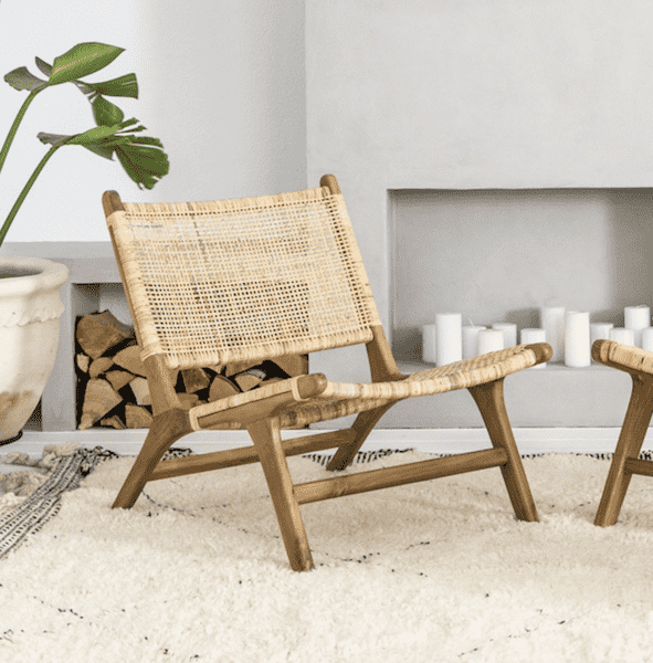 Bali Lounge Chair | 62x74x72cm