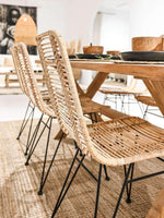 Rattan Dining Chair | Natural - Zoco Home