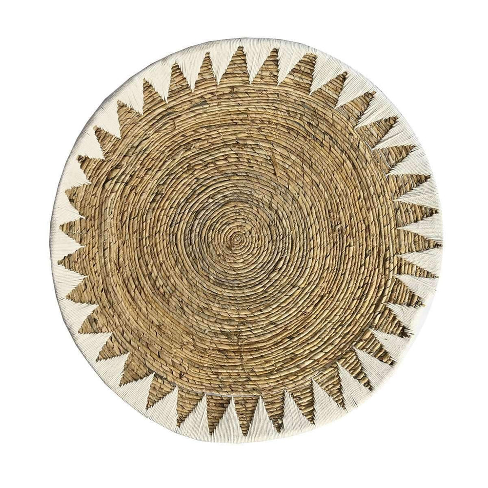 Zoco Home Home accessories Banana tray basket | Natural & white 80cm