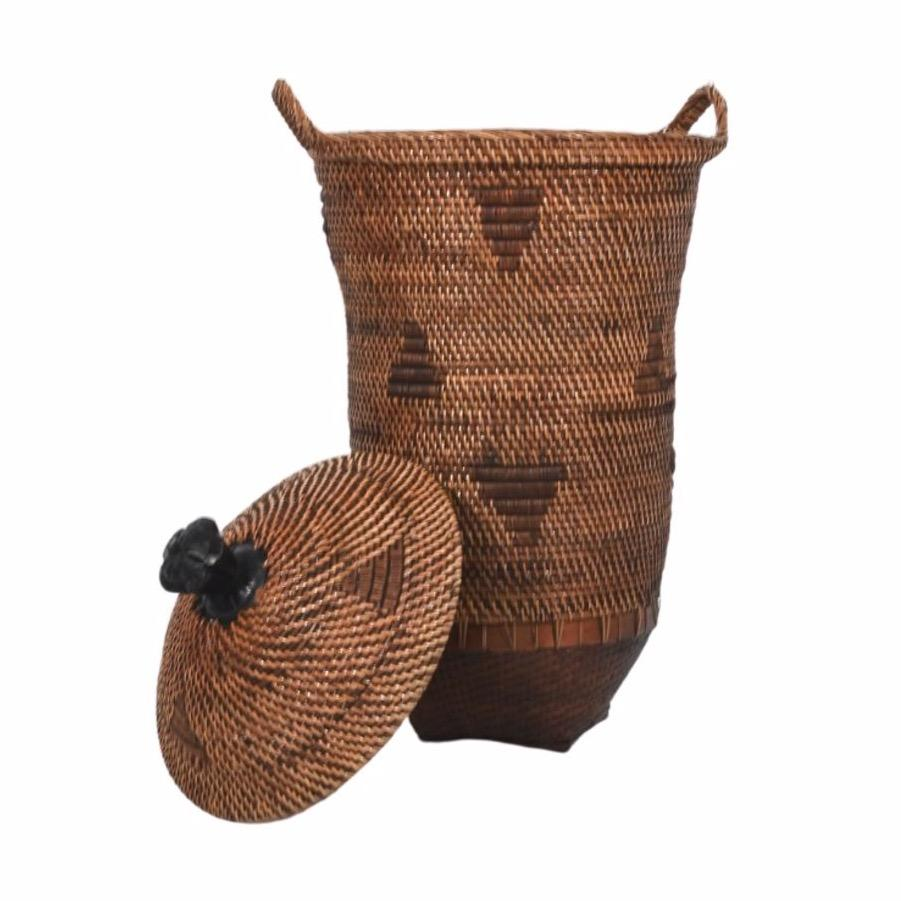 Zoco Home Home accessories Ethnic Basket with Lid | 70 cm