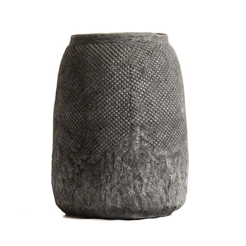 Ibiza Ceramic Pot | Grey 22cm