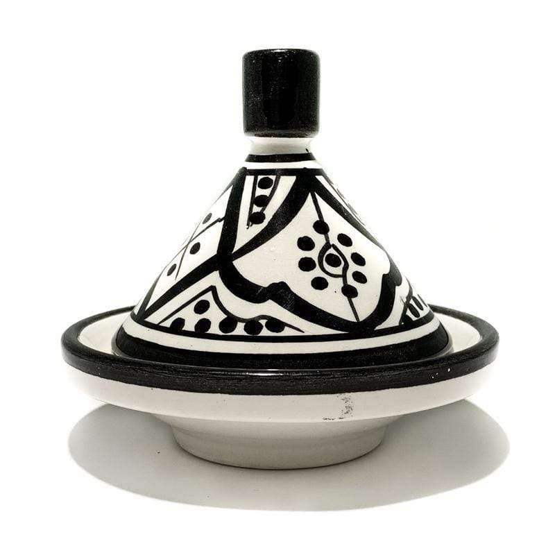 Mini Tagine | Black & White | 10cm
