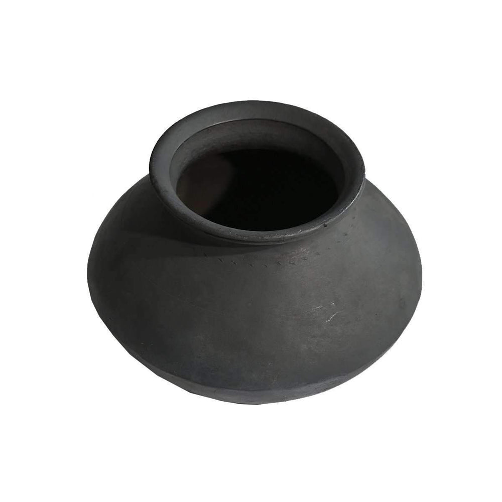 Zoco Home Home accessories Jambi Clay Pot | Dark grey 20cm