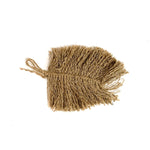 Jute Leaf Wall Decor
