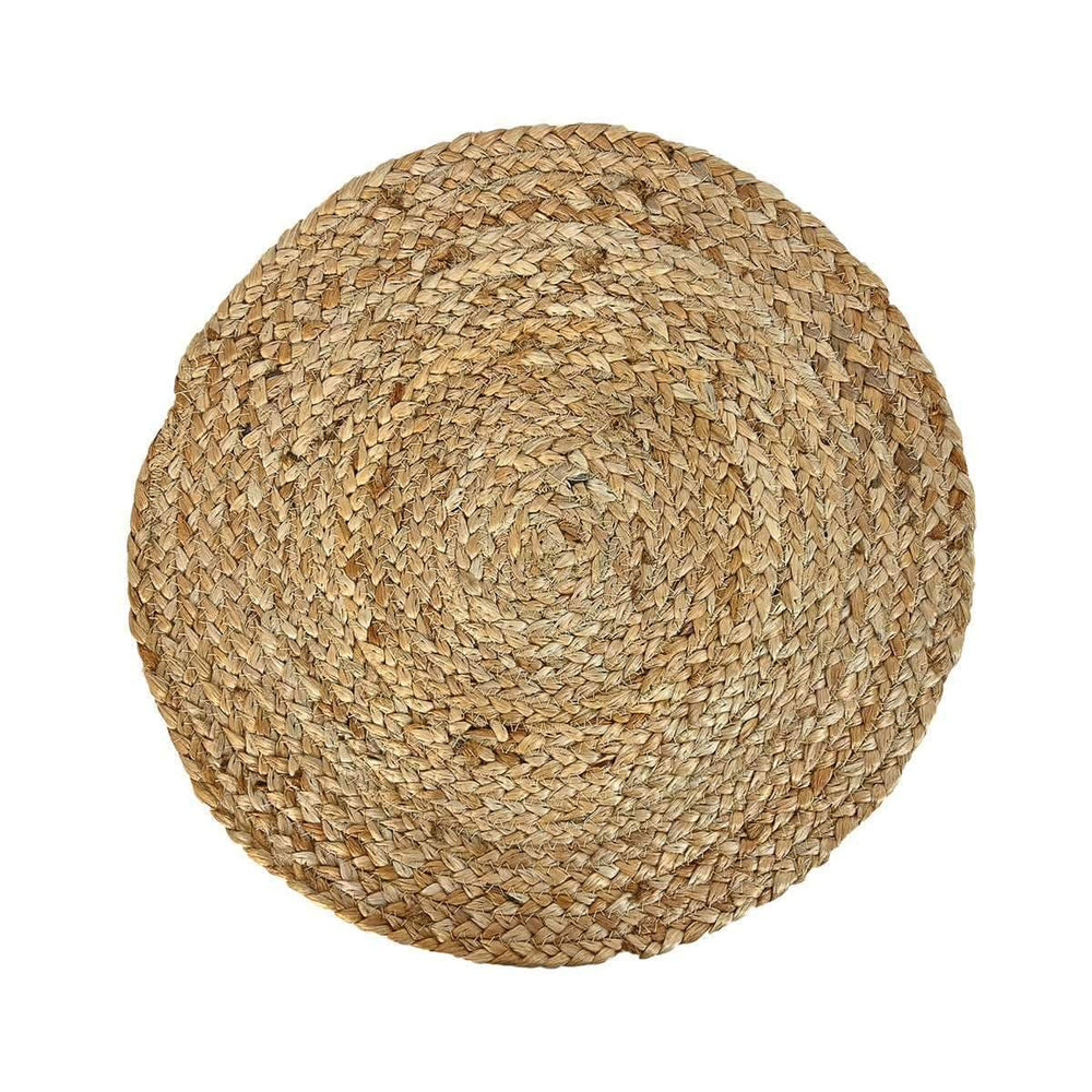 Jute table mat | Natural 36cm