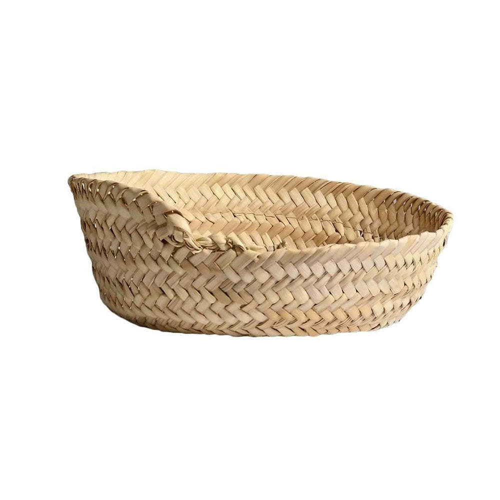 Palm leave basket | 23cm