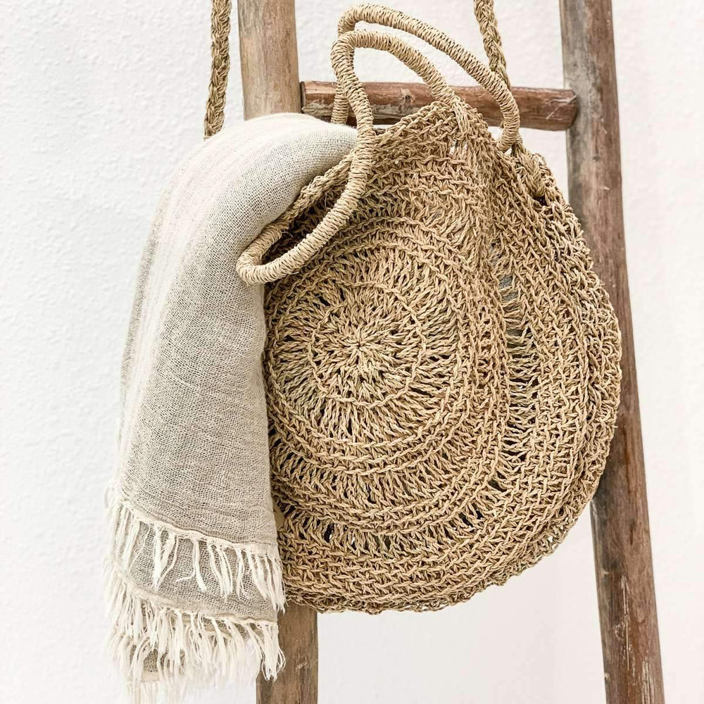 Zoco Home Home accessories Raffia tote bag