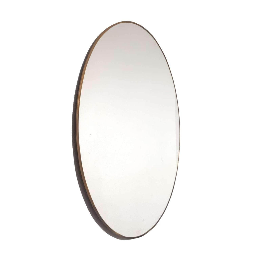 Zoco Home Home accessories Round mirror with metal frames | 60cm