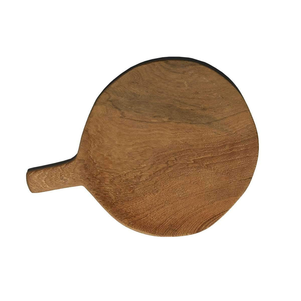 Zoco Home Home accessories Teak Plate with Handle