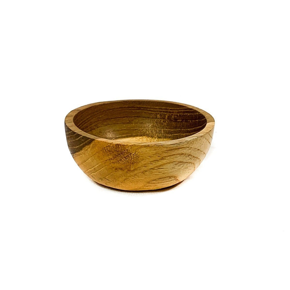 Zoco Home Home accessories Teak Wooden Bowl | 7x3cm