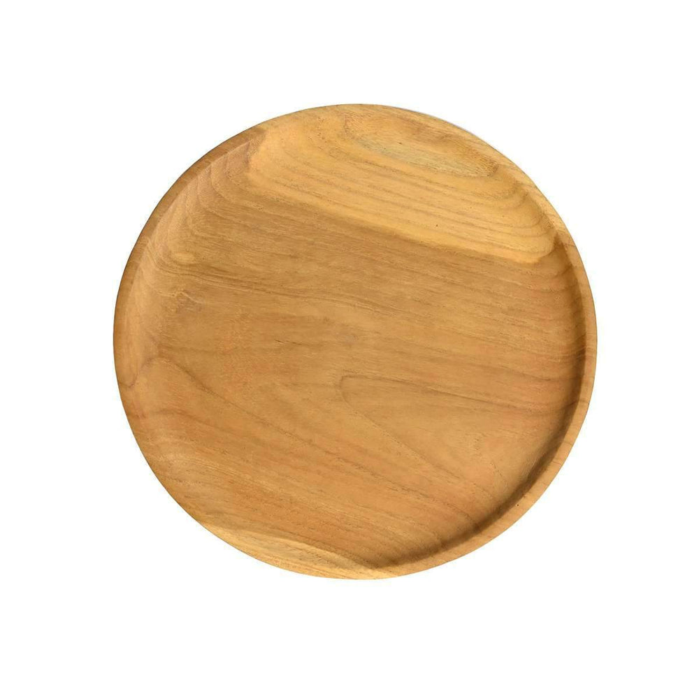 Zoco Home Home accessories Teak Wooden Plate | 25cm