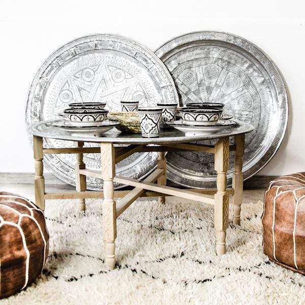 Wooden Legs for Vintage Tray | 95cm - Zoco Home