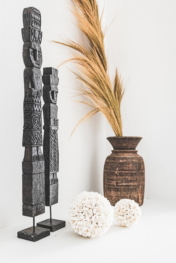 Zoco Home Home accessories Wooden Sumba Statue | 60cm