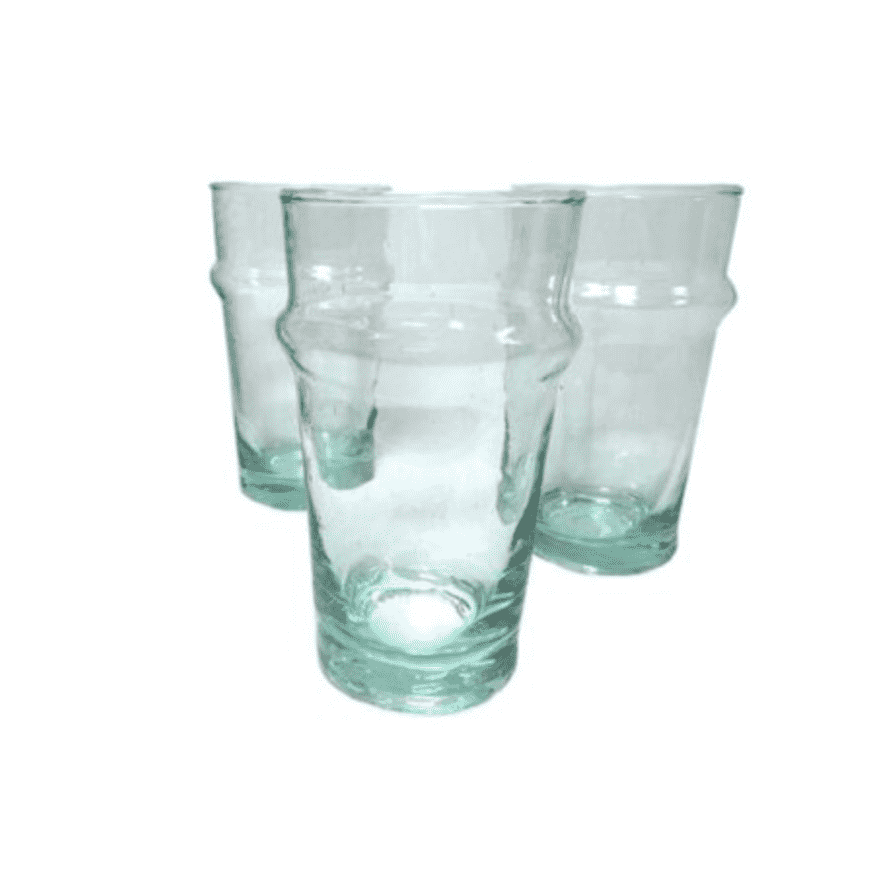 Zoco Home Kitchen / Dining NOMAD Recycled glass - L, set of 6pcs