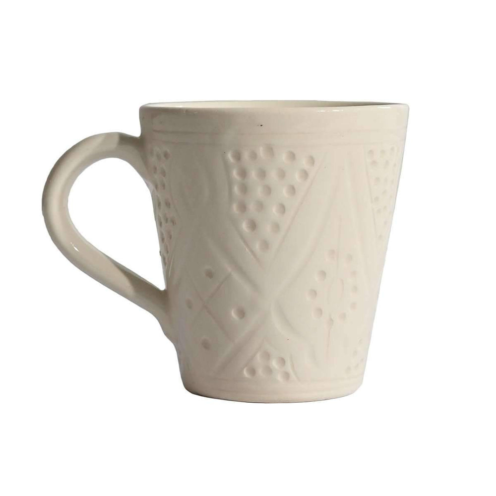 Coffee cup with handle | White 10cm