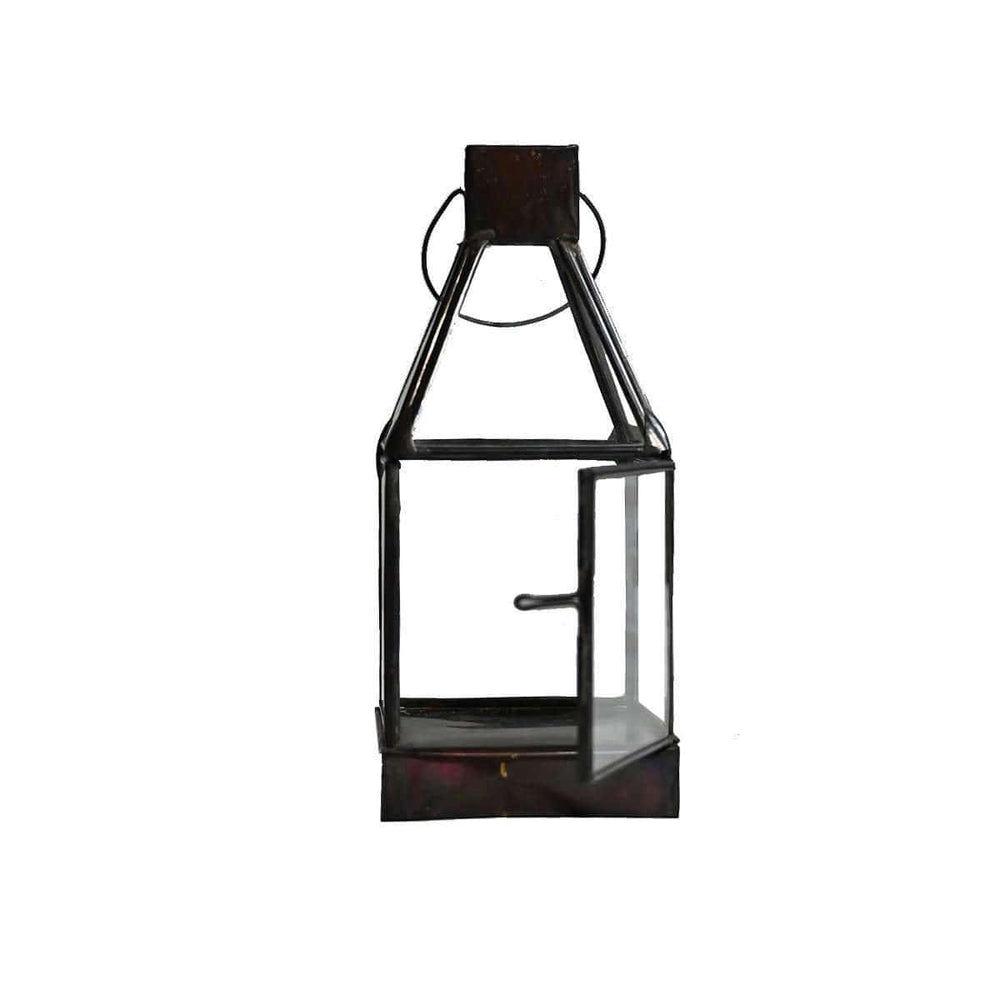 Zoco Home Lighting Iron Lantern 20cm | Black
