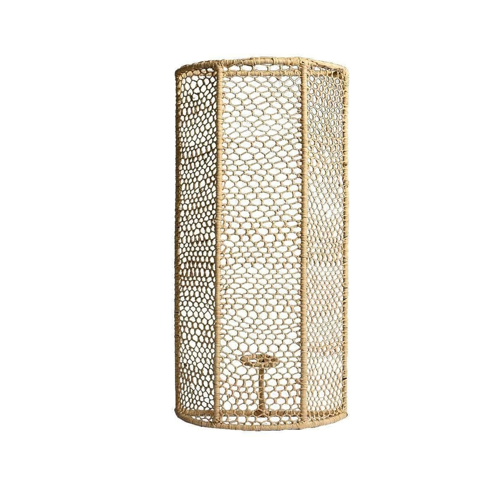 Zoco Home Lighting Seagrass Wall Lamp | 40cm