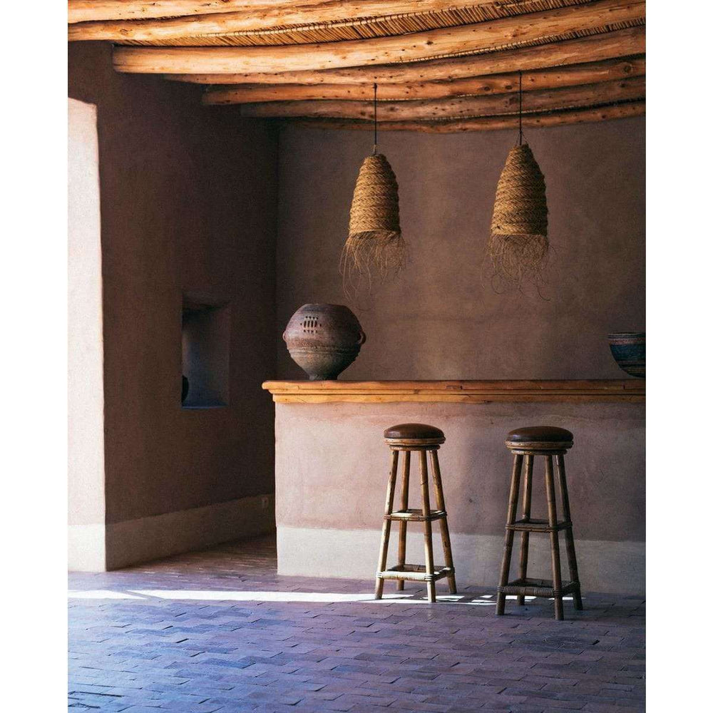 Berber seagrass lamp shade - Zoco Home