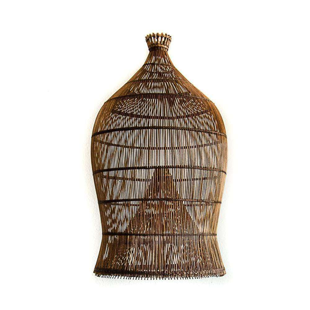 Fish Trap Lamp Shade | Brown