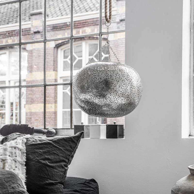 Ceiling Light Amane XL | Silver - Zoco Home