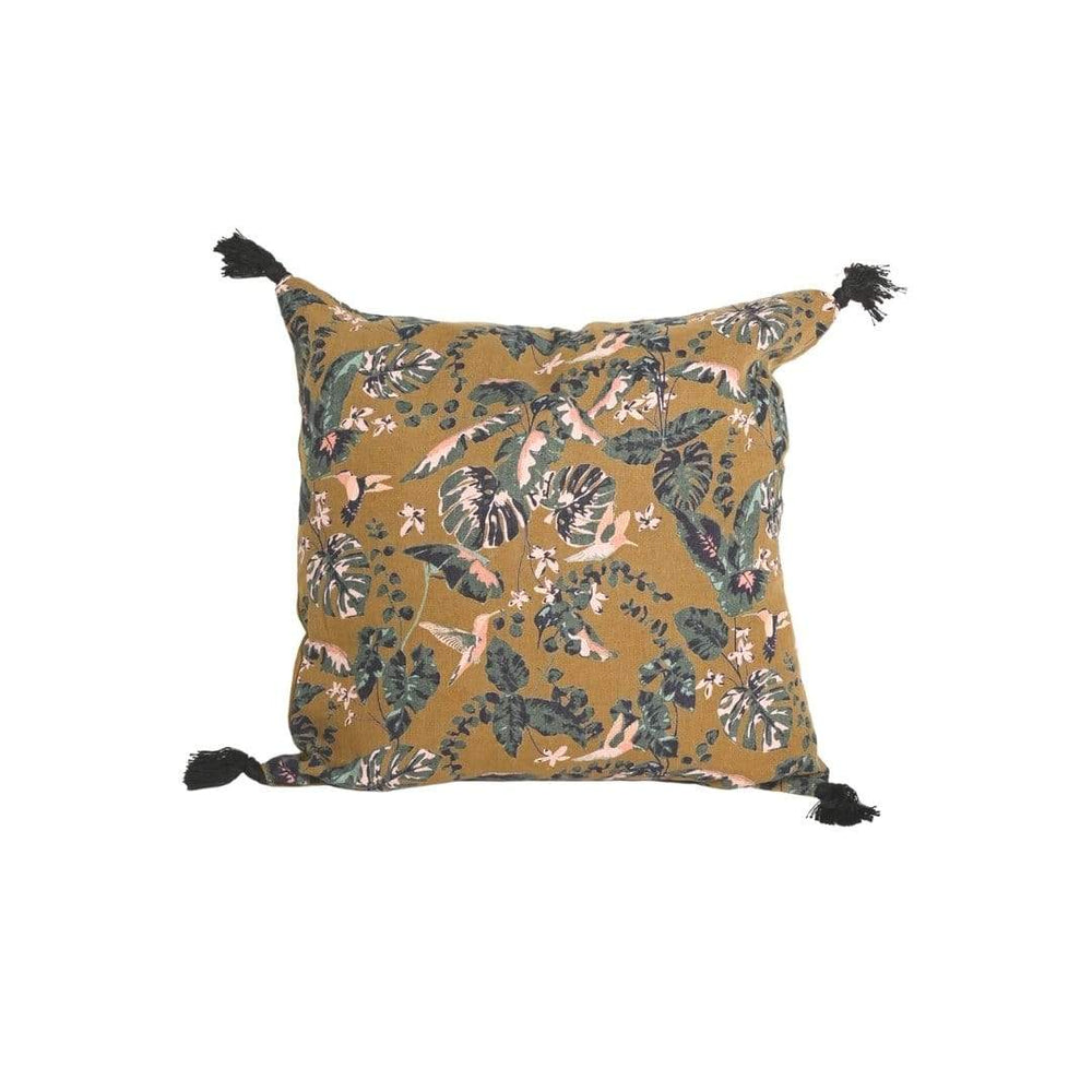 Zoco Home Pillows / Textiles Linen Pillow | Hummingbird 45x45cm