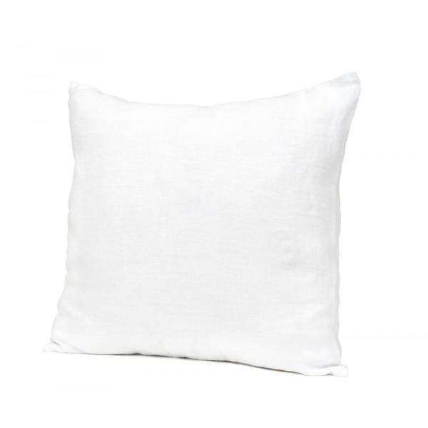Linen Pillow | Stonewashed White | 45cm