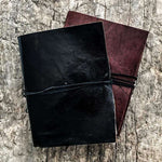 Note book leather black - Zoco Home
