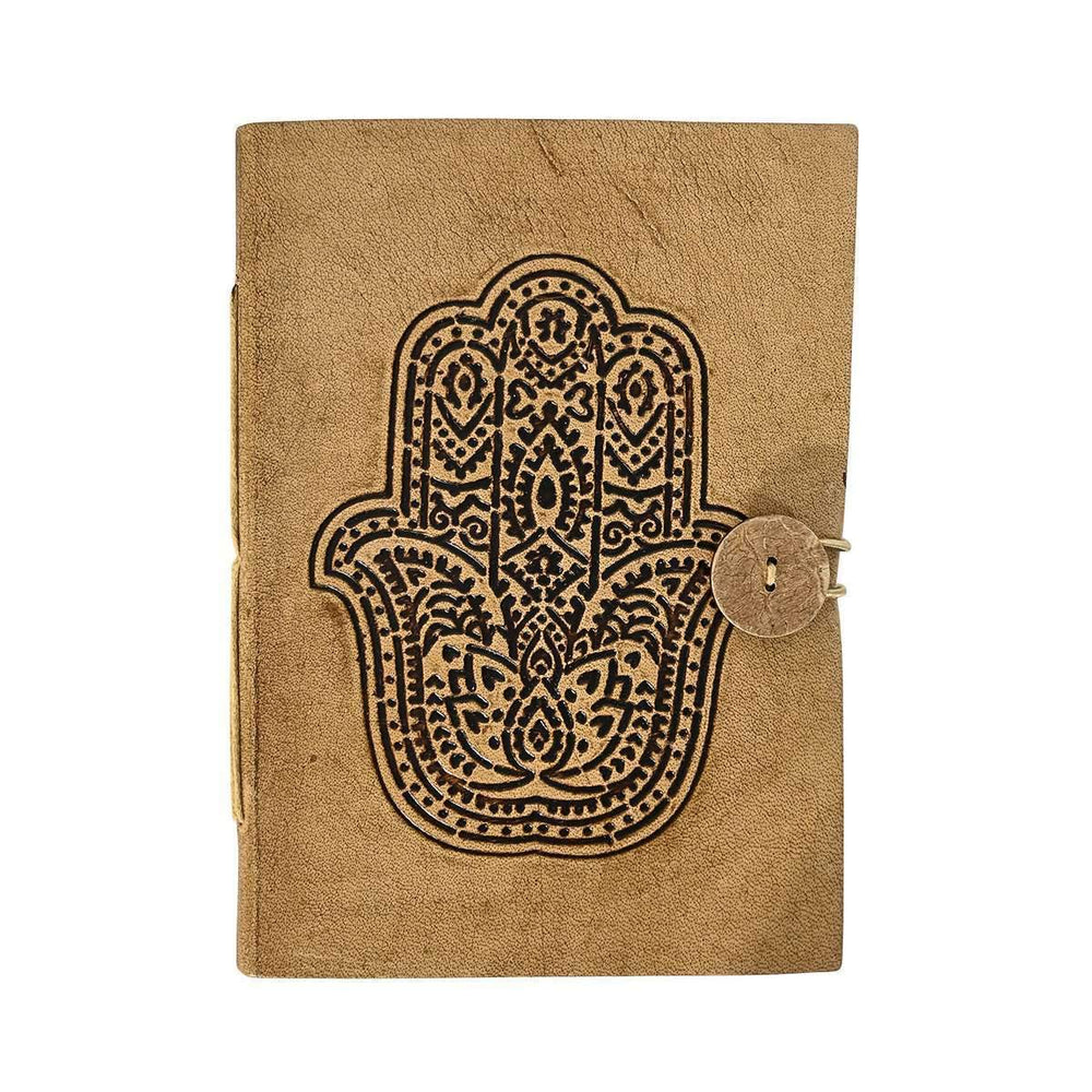 Leather notebook | Hand of Fatima Large