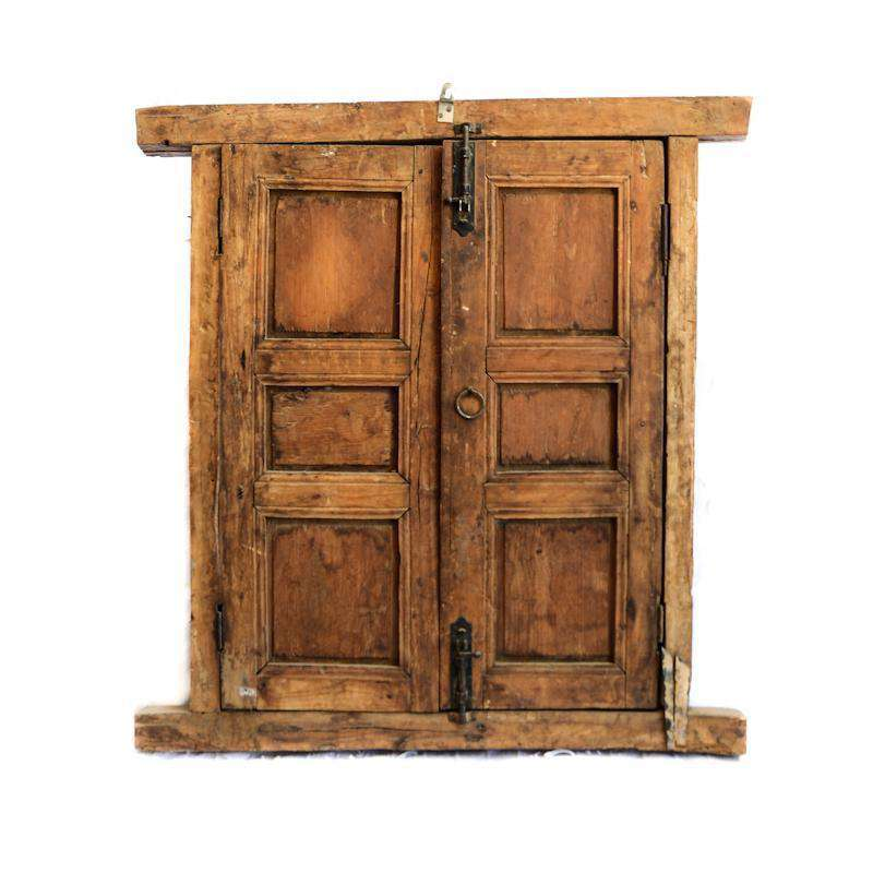 Old Moroccan window 88x69cm - Zoco Home