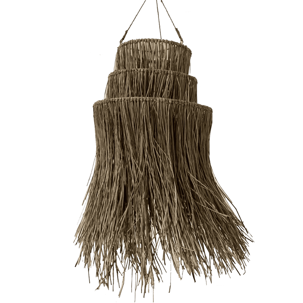 Terigu seagrass lamp shade - Zoco Home