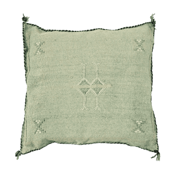 Cactus Silk Pillow Cover | Olive | 50x50cm