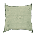 Cactus Silk Pillow Cover | Olive | 50x50cm - Zoco Home