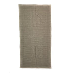 Cotton Bath mat | Sand 110x55cm