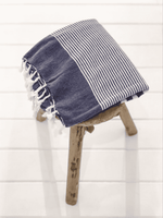 Zoco Home Textiles Fouta Stripes | Blue 200x100cm