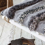 New Moroccan Handira | Grey - Zoco Home