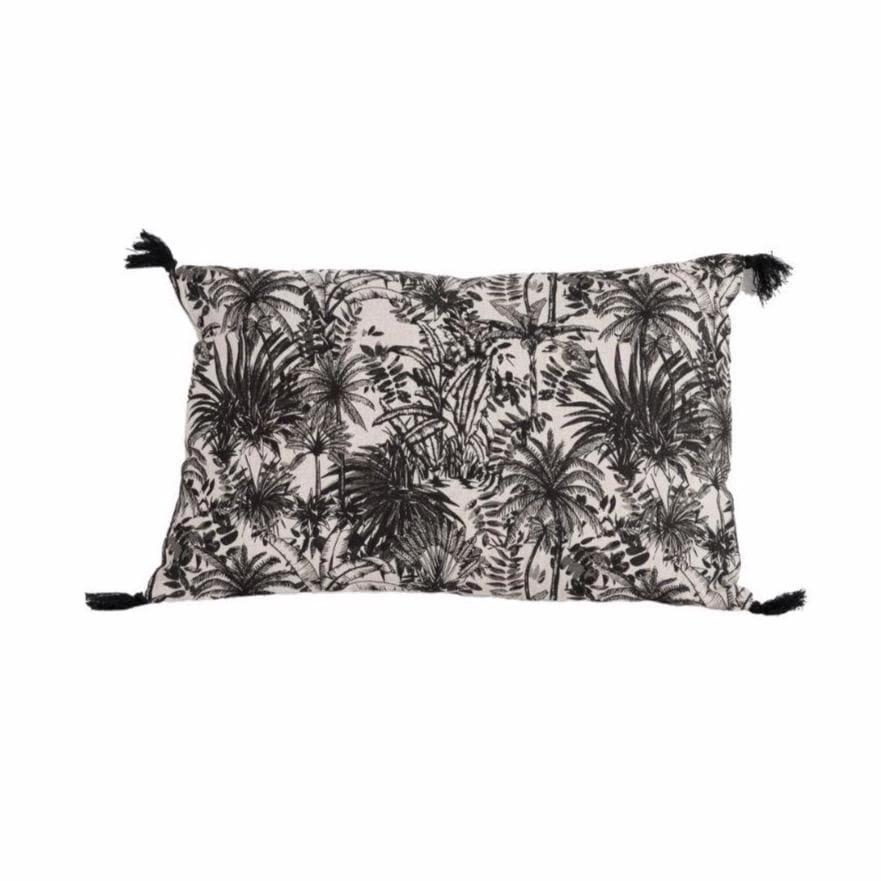 Linen Pillow | Mahe Palm 40x60cm
