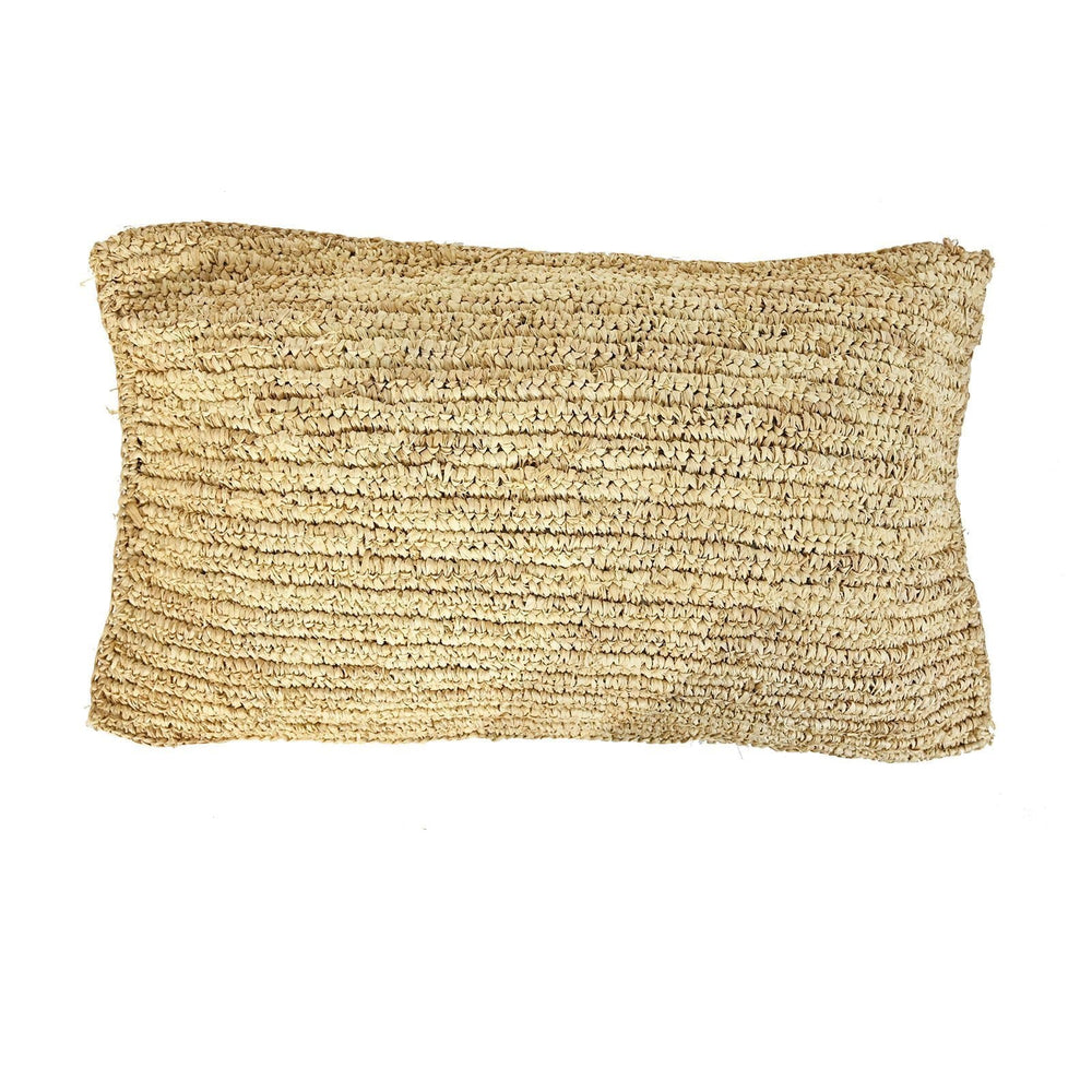 Raffia Cushion Cover 70x40cm