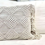 Macrame Cushion Cover | 40x40cm
