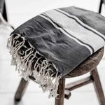 Fouta towel | Light Black - Zoco Home