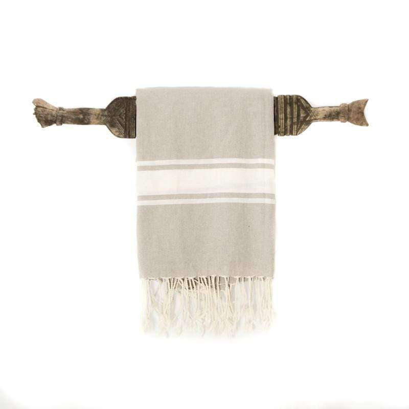 Fouta towel | Light brown - Zoco Home