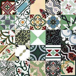 Patchwork Cement Tile | Green