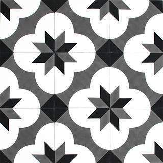 Patterned Cement Tile | 20667