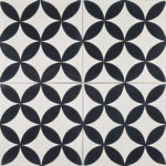 Cement Tile | Casablanca | Black