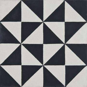 Cement Tile | Kenza | Black - Zoco Home