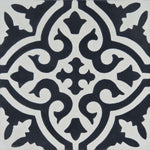 Cement tile | Marrakech | Black