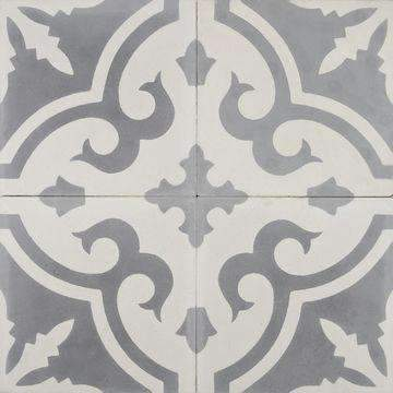 Cement Tile | Marrakech | Grey