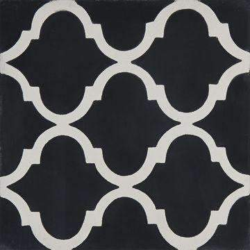 Cement Tile | Medina | Black - Zoco Home